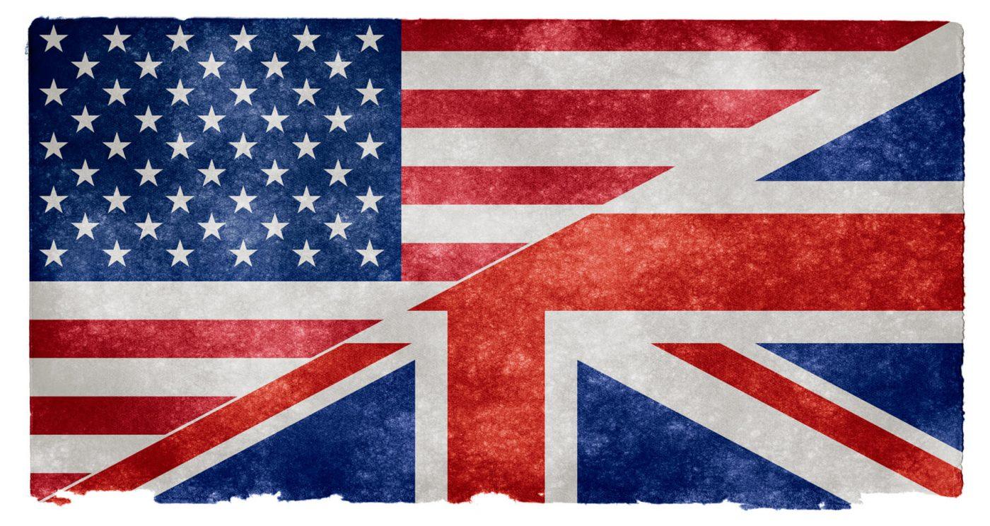 Inglés británico vs inglés Americano