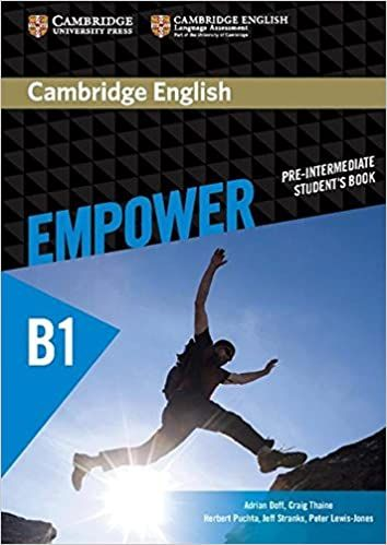Empower Student´s Book B1