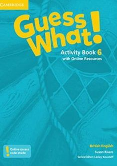 Guess What Activity Book 6